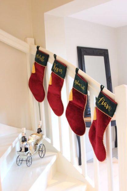 Personlig julestrømpe med navn