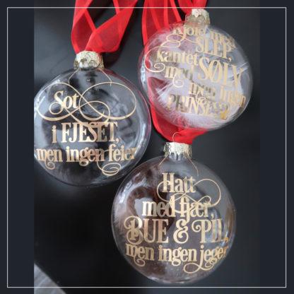 Tre julekuler - Tre nøtter til askepott