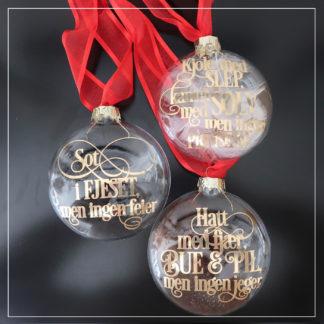 Julekuler tre nøtter til askepott