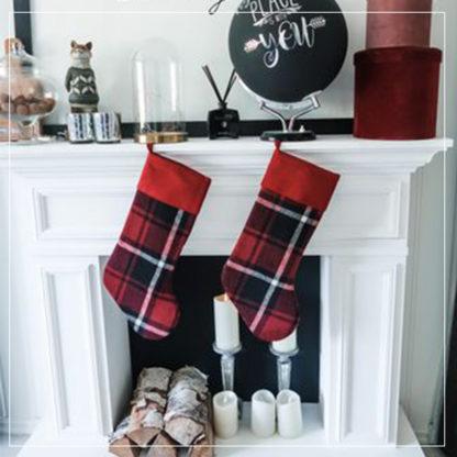 Martha julestrømper i miljøfoto
