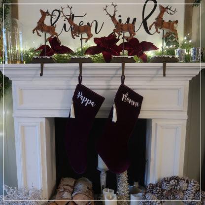 Lilla julestrømper for voksne