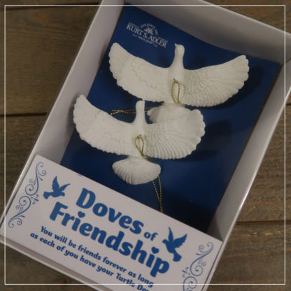 Doves of friendship - original emballasje