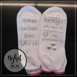 Tre nøtter til askepott sokker